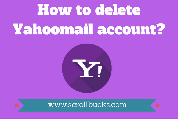 How to delete yahoomail account