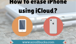 How to erase iPhone using iCloud remotely?