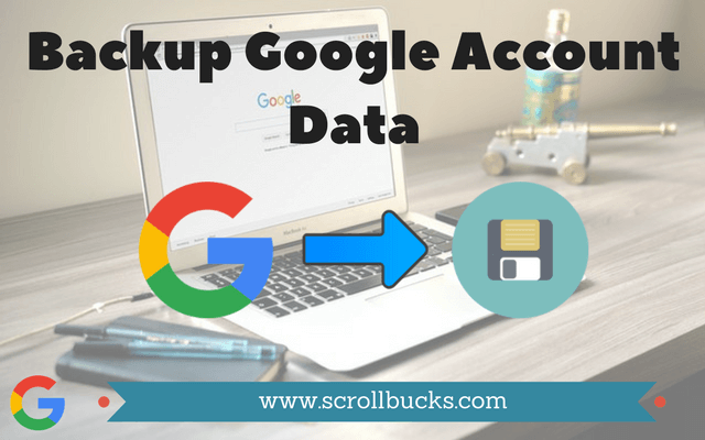 Backup Google Account Data