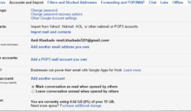 How to link multiple Gmail accounts into one Gmail account?
