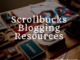 Scrollbucks blogging resources