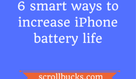 6 smart ways to increase iPhone battery life