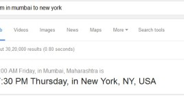 Google adds a Time Zone Converter