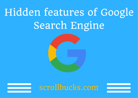 hidden features of google