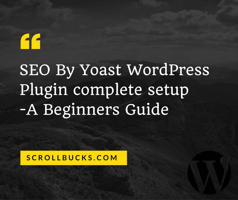 seo by yoast WordPress plugin