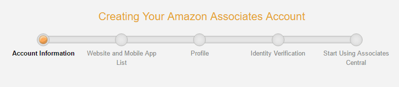 amazon associate sign up