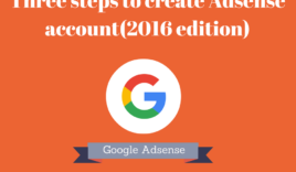 How to create Adsense account-2017 edition?