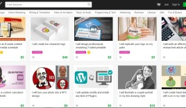 How to find gig on fiverr?