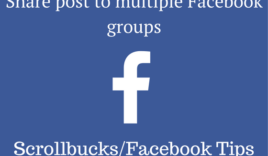 How to share Facebook post to multiple groups?