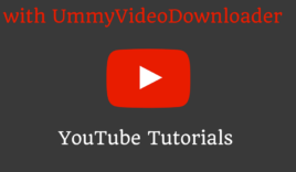 How to download YouTube videos with UmmyVideoDownloader?