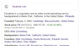 How to display social profiles in google search?