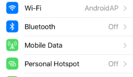 How to turn on or enable hotspot in iPhone?