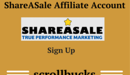 How to create ShareASale Affiliate Account?