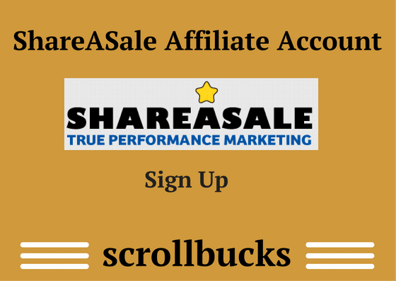 create shareasale affiliate account