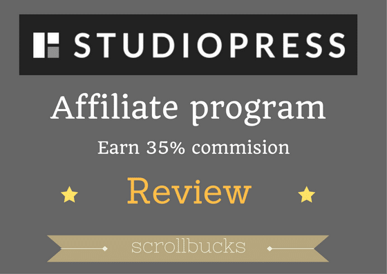 studiopress affiliate program review