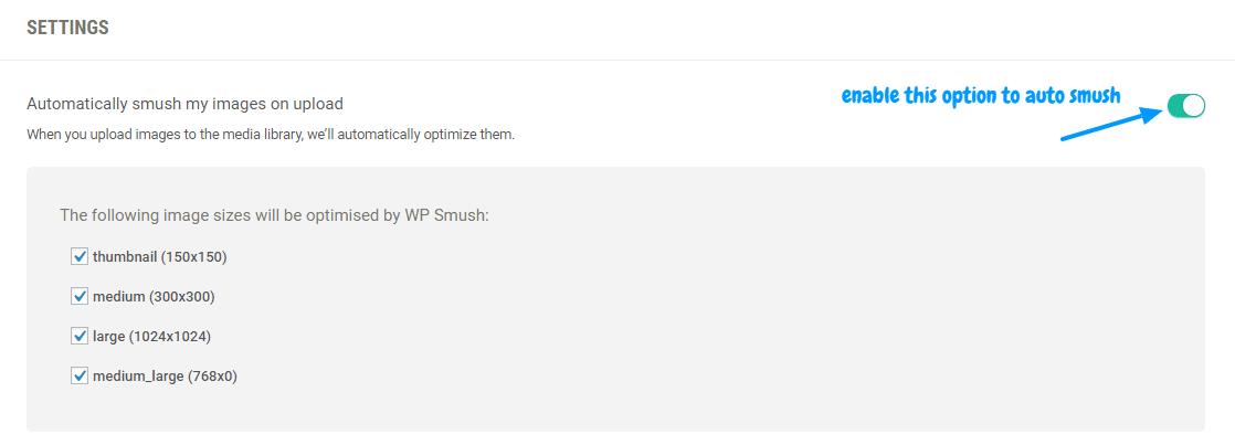 wp smush auto compress WordPress plugin