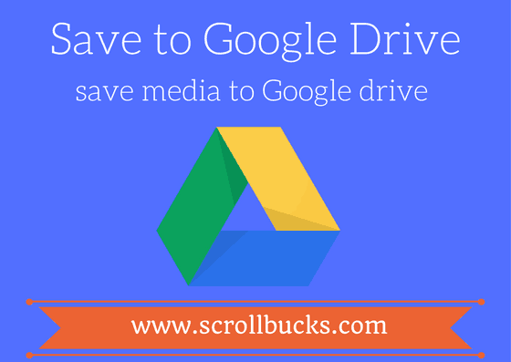 save to google drive chrome plugin