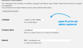 How to create Hostgator Affiliate account?
