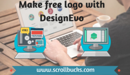 How to make free logo with DesignEvo?