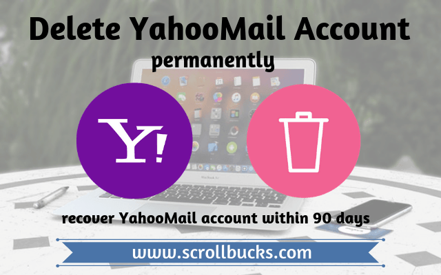 delete yahoomail account