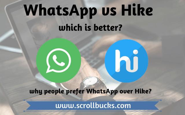 hike vs whatsapp