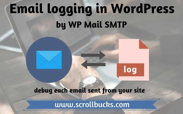 email logging by wp mail smtp wordpress plugin