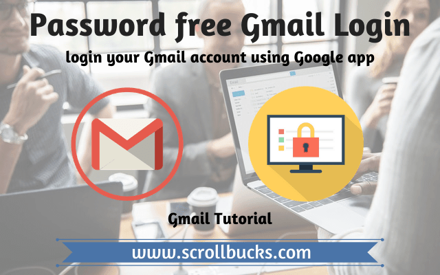 how to login gmail account without password?